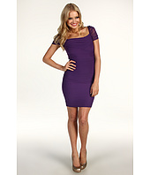 Jessica Simpson - Gathered Exposed Zipper Dress