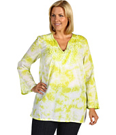 MICHAEL Michael Kors Plus - Plus Size Embroidered Tie Dye Tunic