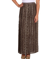 MICHAEL Michael Kors Petite - Petite City Python Collection Pleated Skirt