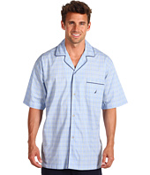 Nautica - Seaview Plaid S/S Sleep Camp Shirt