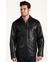 Perry Ellis - Smooth Lambskin Open Bottom Jacket