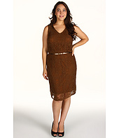 Jones New York - Plus Size Sleeveless Pointelle Dress