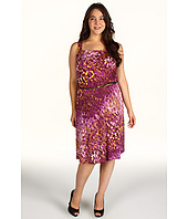 Jones New York - Plus Size Sleeveless Fit and Flare Dress