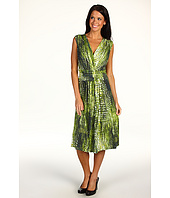 Jones New York - Shelter Isalnd S/L Crossover Wrap Dress