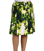 Jones New York - Plus Size Shelter Island Wide Waist Pleat Front Skirt