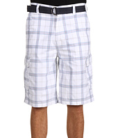 Calvin Klein - Big & Tall Dry Plaid Cargo Short w/ Belt