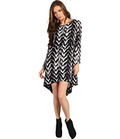 Just Cavalli - Chevron Print L/S Dress