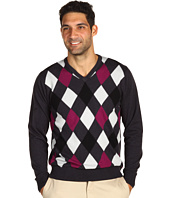 Ashworth - Argyle V-Neck Sweater