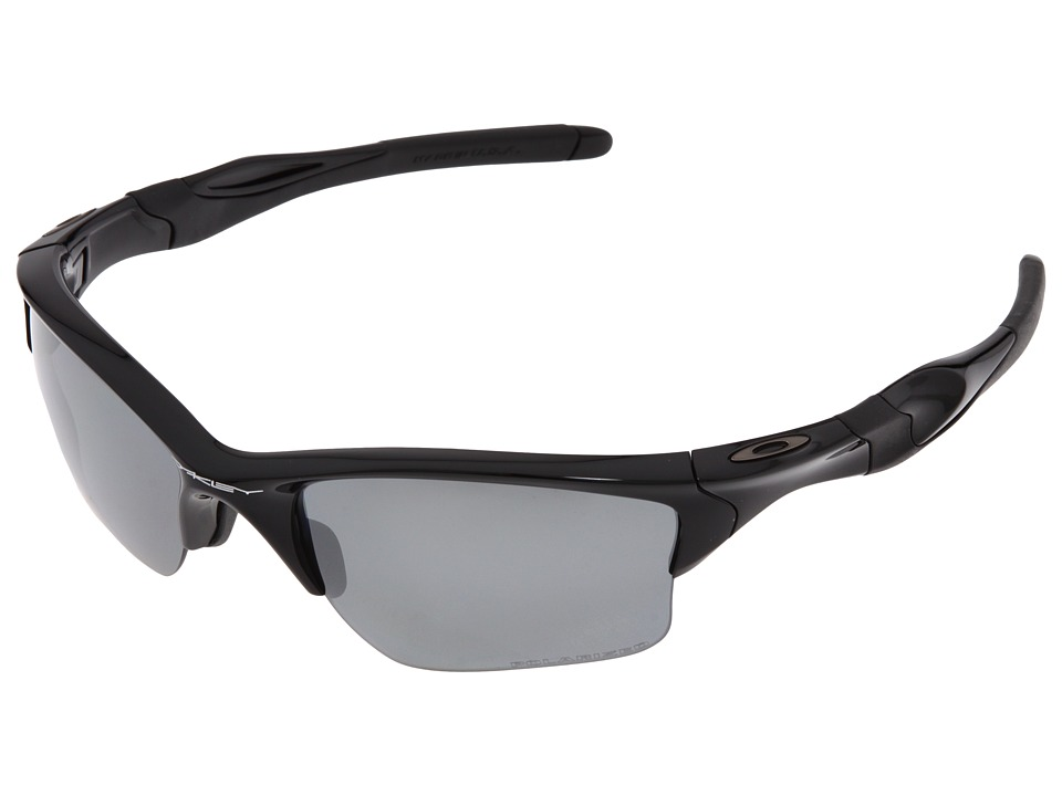 Oakley - Half Jacket 2.0 XL Polarized (Polished Black w/Black Iridium Polarized) Sport Sunglasses