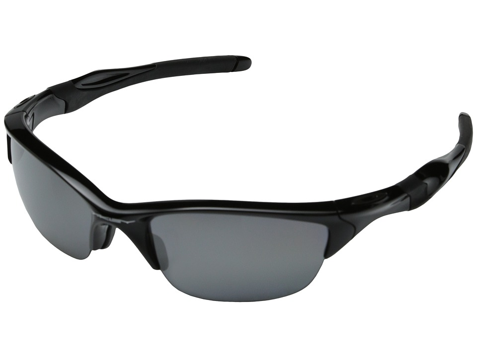 Oakley - Half Jacket 2.0 Polarized (Polished Black w/Black Iridium Polarized) Sport Sunglasses