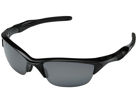 Oakley Half Jacket 2.0 Polarized - Polished Black w/Black Iridium Polarized