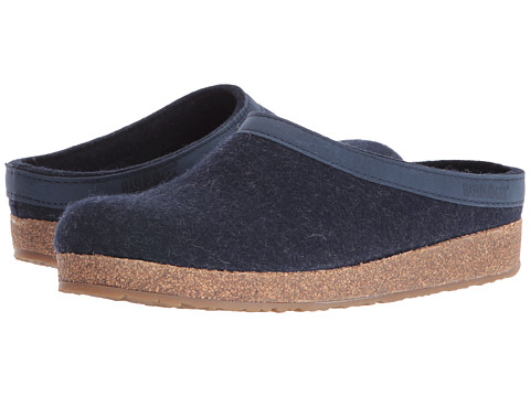 Haflinger GZL Leather Trim Grizzly - Zappos.com Free ...