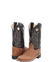 Old West Kids Boots - Goodyear Welted Broad Square Toe (Toddler/Youth)
