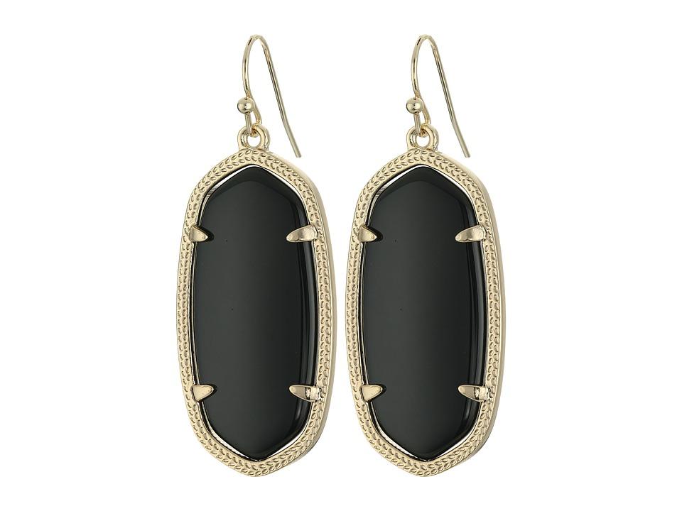 Kendra Scott - Elle Earring (Black Onyx) Earring