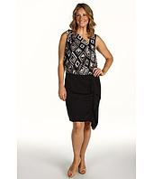 DKNYC - Plus Size Sleeveless System Dress