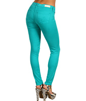 AG Adriano Goldschmied - The Legging Ankle Stretch Sateen in Turquoise