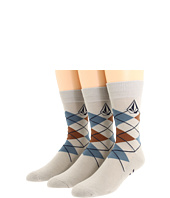 Volcom - Argyle Socks 3-Pair Pack