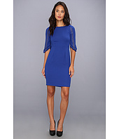 BCBGMAXAZRIA - Lexy 3/4 Sleeve Sheath Dress