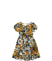 Dolce & Gabbana - Printed Voile Cotton Dress (Toddler/Little Kids/Big Kids)