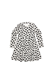 Dolce & Gabbana - Printed Plush L/S Dress (Toddler/Little Kids/Big Kids)