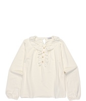 Dolce & Gabbana - Modal Jersey/Voile L/S Tee (Toddler/Little Kids/Big Kids)