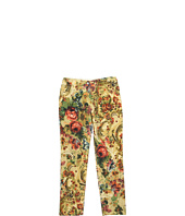 Dolce & Gabbana - 5-Pocket Printed Velvet Trouser (Toddler/Little Kids/Big Kids)