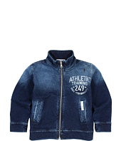 Dolce & Gabbana - Denim Plush L/S Sweatshirt (Toddler/Little Kids/Big Kids)