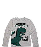 Dolce & Gabbana - Dinosaur Print L/S Tee (Toddler/Little Kids/Big Kids)