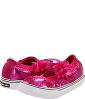 Morgan&Milo Kids - Sparkle Floral Mary Jane (Toddler/Youth)