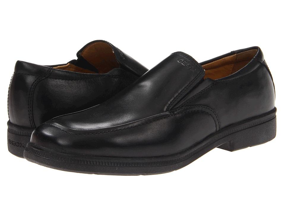 Geox Kids - Jr Federico 2 (Big Kid) (Black) Boys Shoes