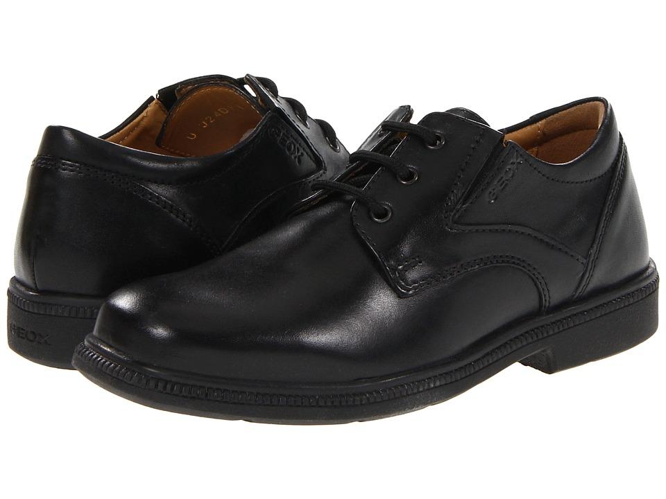 Geox Kids - Jr Federico 1 (Little Kid) (Black) Boys Shoes