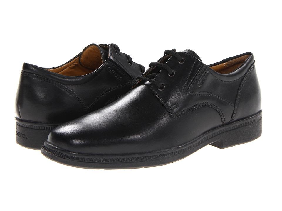 Geox Kids - Jr Federico 1 (Big Kid) (Black) Boys Shoes