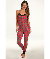 Betsey Johnson - Plaid About You Legging PJ Set