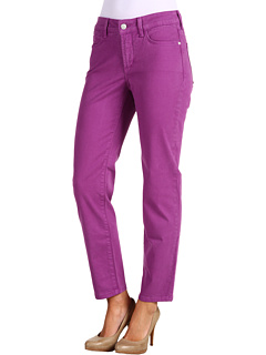 Alisha Fitted Ankle Jean in Viridian Viola Not Your Daughters Jeans