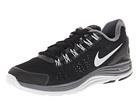 Nike - Lunarglide+ 4 (Black/Reflective Silver/Wolf Grey/Dark Grey) - Footwear