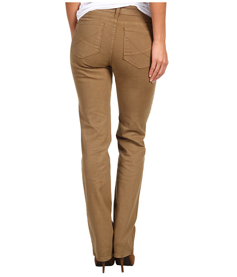 Cheap Nydj Hayden Straight Jean In Caramel Caramel