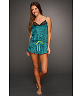 Betsey Johnson - Sultry Stretch Satin Romper