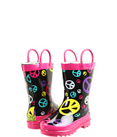 Western Chief Kids - Peace Drops Rain Boot (Toddler/Youth)
