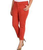 NYDJ Plus Size - Plus Size Alisha Fitted Ankle Jean in Colored Denim
