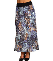 NIC+ZOE - Pattern Play Long Print Skirt