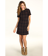 Fred Perry - Tonal Tartan Wool Dress