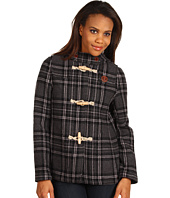 Fred Perry - Grey Scale Tartan Duffle Coat