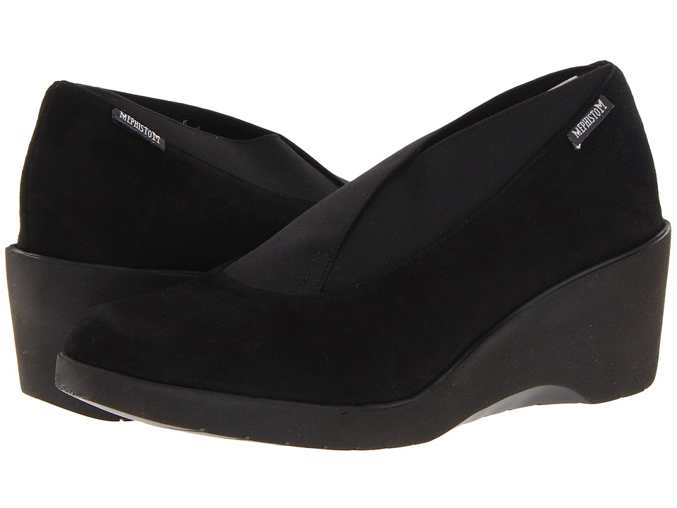 Mephisto - Telma (Black Velcalf Premium) Women