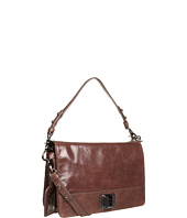 Badgley Mischka - Ariel Shine Handbag w/ Flap
