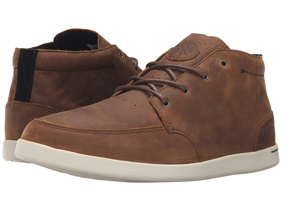 Reef Spiniker Mid NB (RESRV Collection) (Brown) Men's Lac...