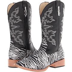 Roper - Zebra Glitter Boot