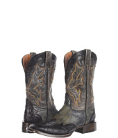 Stetson - Tooled Square Toe Wing Tip Boot