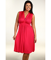 Rachel Pally Plus - Plus Size Sleeveless Caftan Short Dress