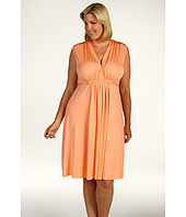 Rachel Pally Plus - Plus Size Sleeveless Knee Length Caftan