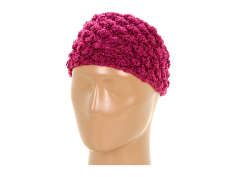 San Diego Hat Company KNH3208 Knit Headband Raspberry Cold Weather Hats